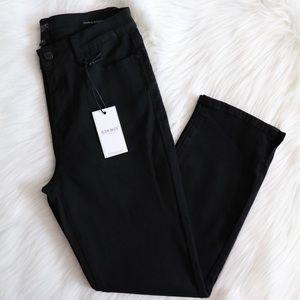 Judy Blue Los Angeles Black Straight Slim Jeans